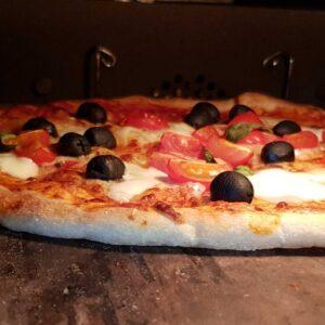 Šamotna plošča za peko pizze in kruha
