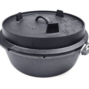 ValhalOutdoor VH6.1L – DUTCH OVEN 6.1L